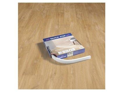 Ohebná natíratelná podlahová lišta