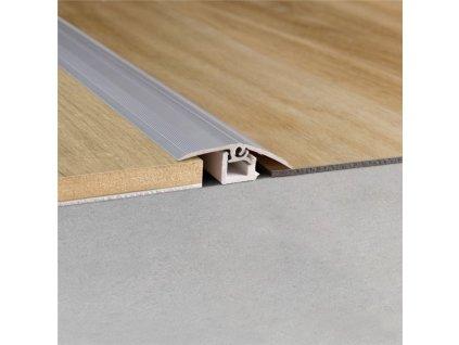 Multifunkční profil stříbrný
