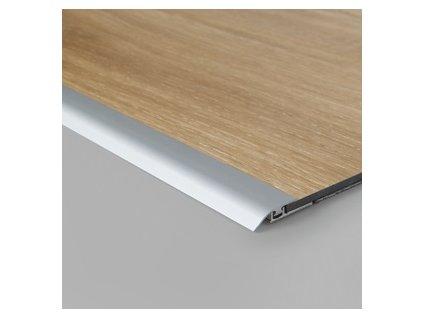 Vyrovnávací profil Click stříbrný 2000 mm