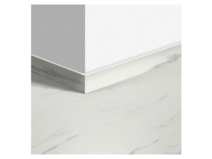 Soklová lišta Mramorová dlažba bílá