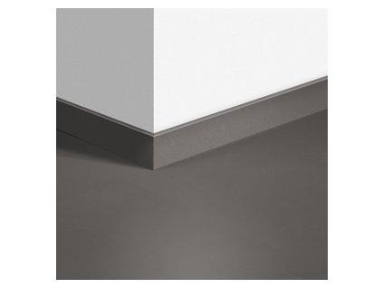 Soklová lišta Minimalistická středně šedá