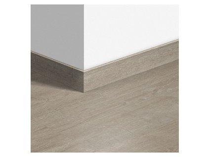 Soklová lišta Dub bavlna teplý šedý