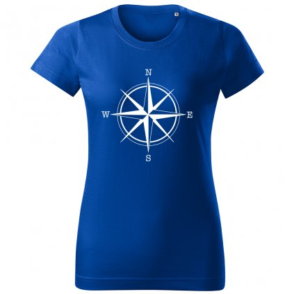 damske triko modre