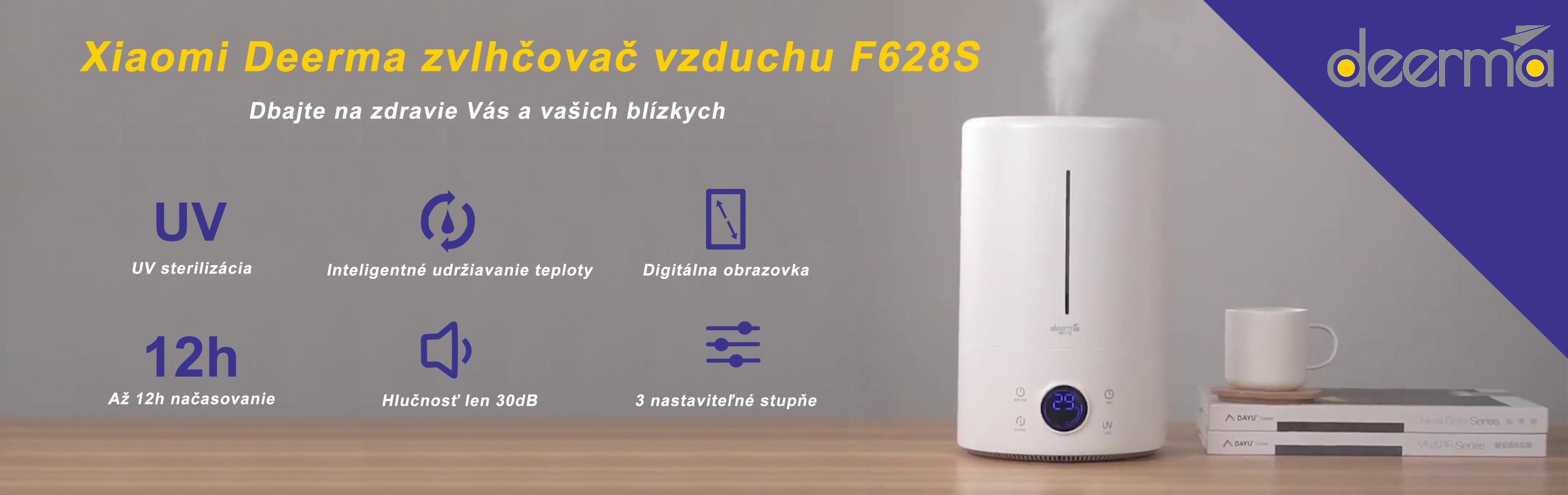 Xiaomi Deerma zvlhčovač vzduchu F628S