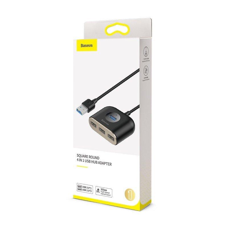 pol_pl_Adapter-USB-4w1-Baseus-Square-Round-HUB-USB-3-0-do-1x-USB-3-0-3x-USB-2-0-1m-czarny-17508_5