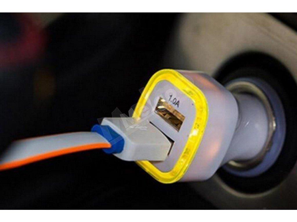 Autonabíjačka - LED podsvietenie