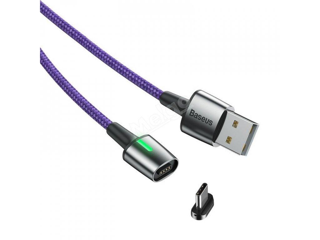 Baseus Zinc magnetický kábel USB C 3A 1m (3)
