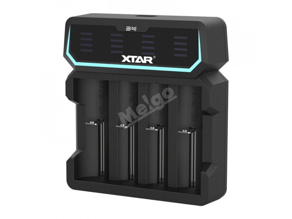 Rýchlonabíjačka XTAR D4 (2)
