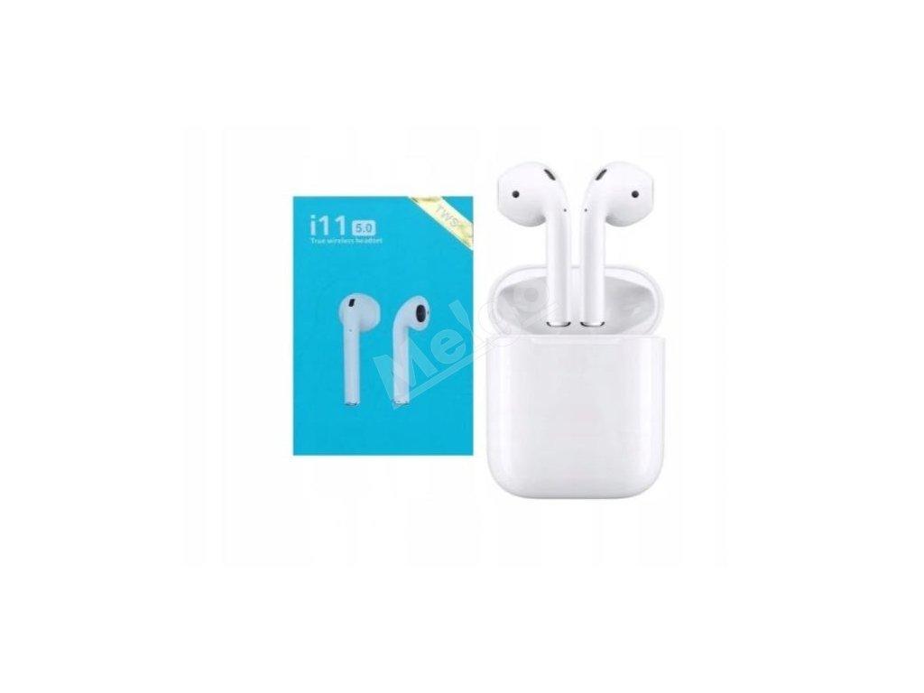 TWS i11 Bluetooth slúchadlá (1)