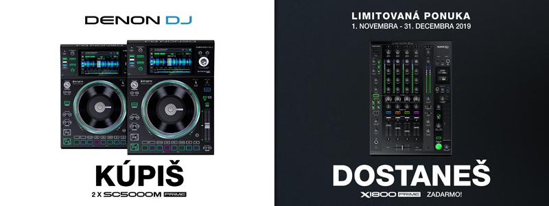 Speciální akce Denon DJ