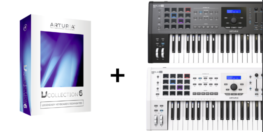 ARTURIA V COLLECTION 6 ZDARMA KE KEYLAB MKII 49 !
