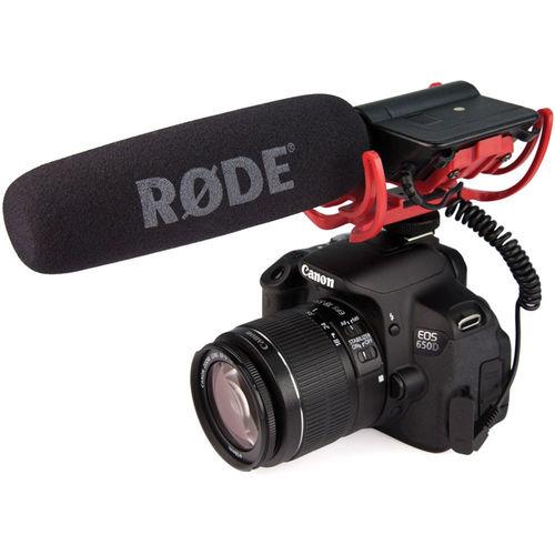 Kamerové a broadcasting mikrofony
