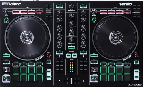 DJ konzoly a kontrolery