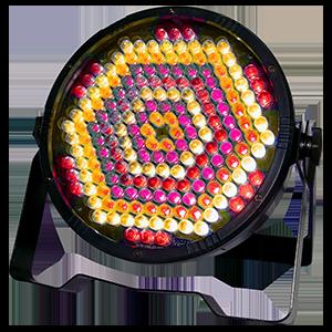 LED PAR a Flat PAR