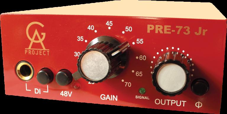 Mikrofonové preampy (předzesilovače)