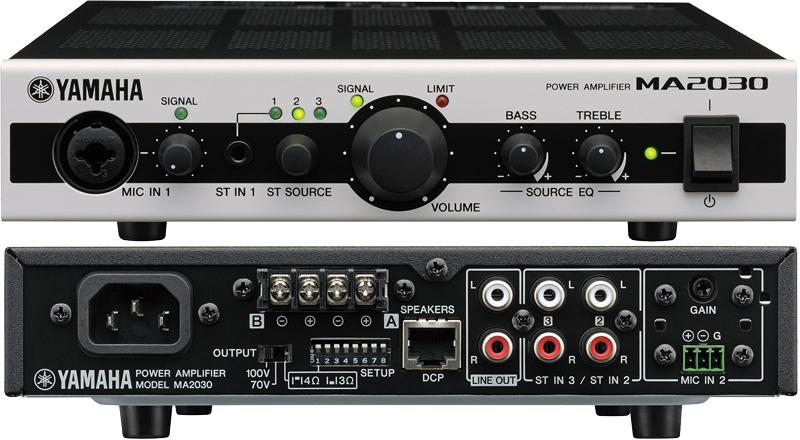 Mixážní zesilovače a receivery