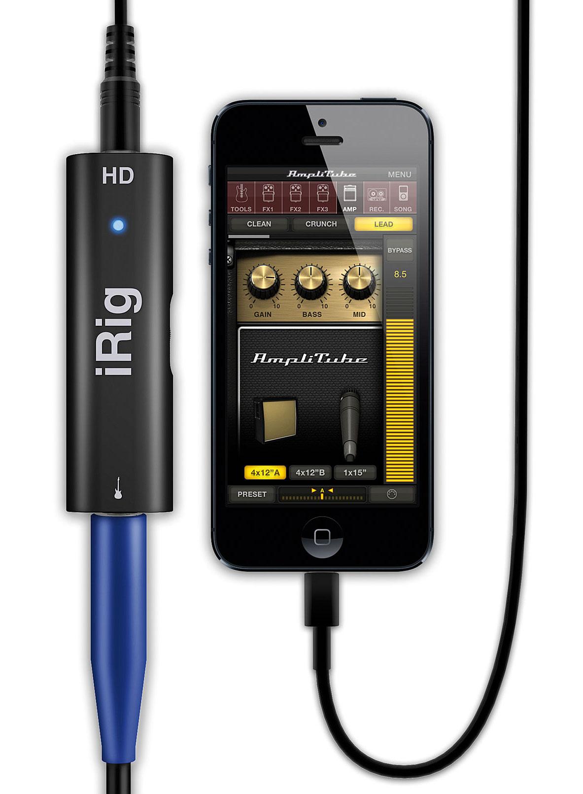 Zvukové a MIDI rozhraní pro iOS a Android