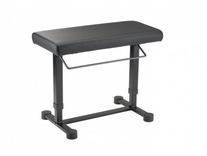 K&M 14080 Piano bench »Uplift« black leather
