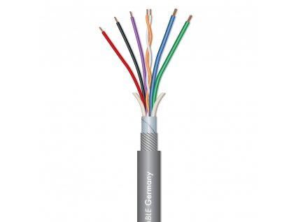 Sommer Cable SC-OCTAVE TUBE Tube micro cable, Gray