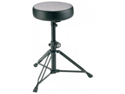 K&M 14015 Drummer's throne black leather