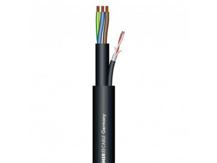 Sommer Cable MONOLITH DMX + 230V 3x1,5mm, Black