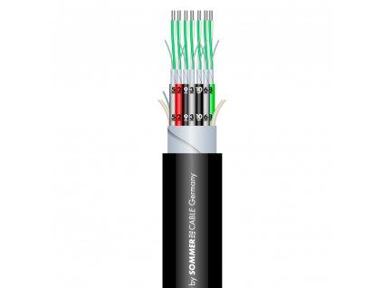 Sommer Cable SC-MISTRAL MCF-24 Studiom./Black