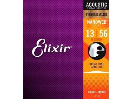 Elixir 16102 0.13-0.56 Phosphor Bronze