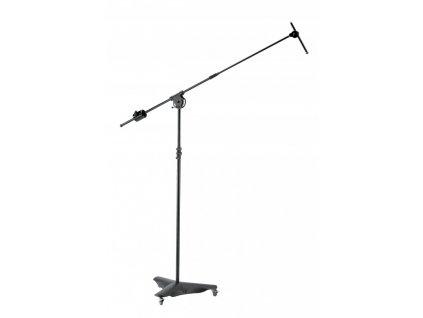 K&M 21430 Overhead microphone stand black