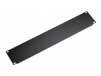K&M 494/2 Panel black, 1 space, 0,1 kg