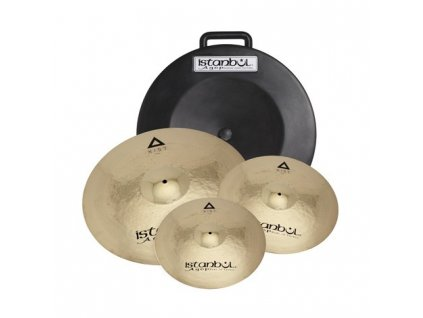 """Istanbul Agop XIST POWER PACK 14""""16""""20"""" + HARDCASE"""