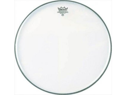 Remo Ambassador White Coated 14""