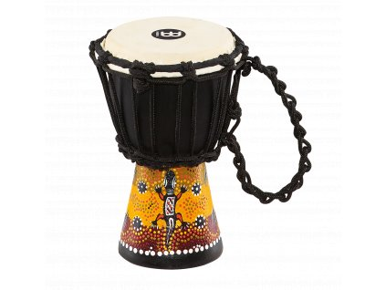 MEINL AFRICAN STYLE DJEMBE XX-SMALL, PAINTED,GECKO DESIGN