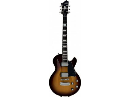 HAGSTROM Northen Super Swede - Tobacco Sunburst+case