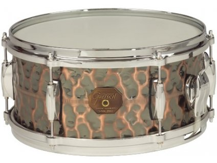 """Gretsch Snare G4000 Series 6x13"""" Hammered Antique Copper Shell"""