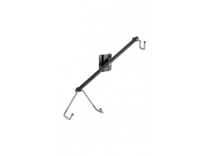 K&M 16295 Wall mount for electric guitar black