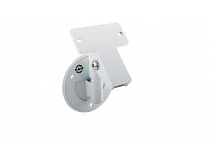 K&M 24161 Universal speaker wall mount structured white