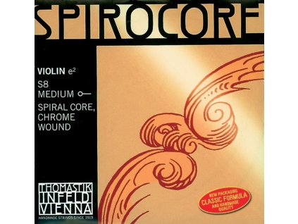 Thomastik Strings For Violin Spirocore spiral core Medium
