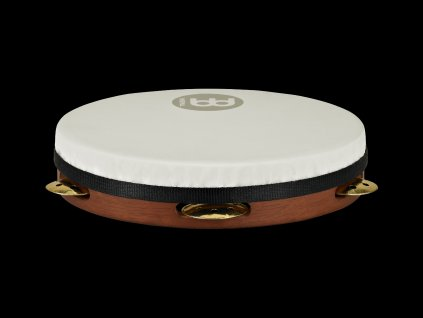 "MEINL 10"" WOOD PANDEIRO HAMMERED VENTED BRASS JINGLE"