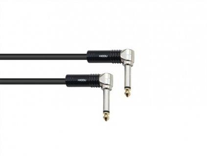 Sommer Cable TX9M Jack 90- / Jack 90- 3m Black