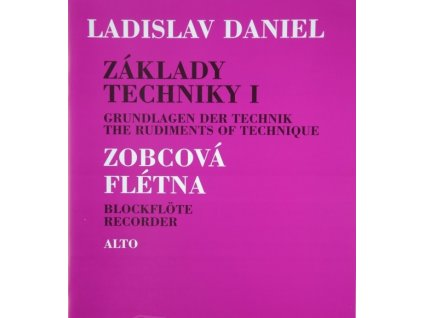 Základy techniky I, Altová flauta - Ladislav Daniel