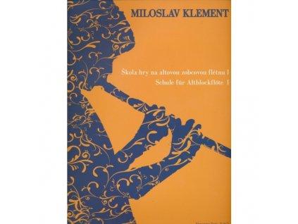 Škola hry na altovou zobcovou flétnu I - Klement