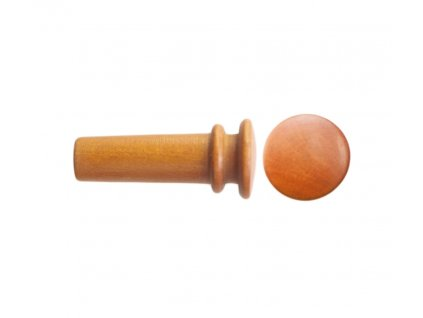 Petz violin endpin, boxwood, medium