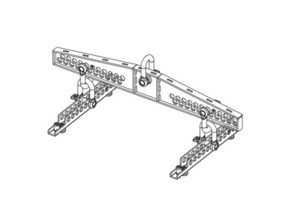FBT VHA-FH 406-5 FLYING BAR FOR 2 to 5 x VHA406A IN HORIZONTAL