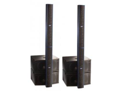 4 x FBT CLA 604 A Black + 4 x CLA 208 SA Black + obaly