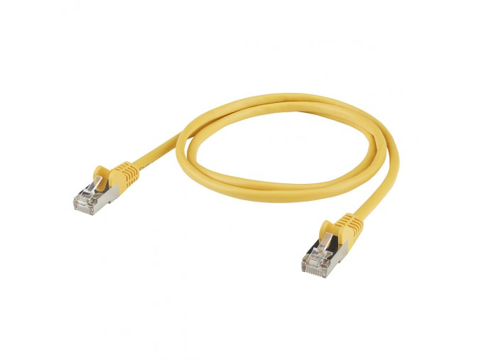 Sommer Cable TPC CAT.5E/BASIC RJ45<>RJ45 Yellow 0,50m