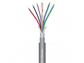 Sommer Cable SC-OCTAVE TUBE Röhrenmikrokabel Gray