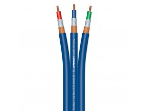 Sommer Cable ALTERA SPLIT Video 3x75 Ohm 0.6/3.7 Blue