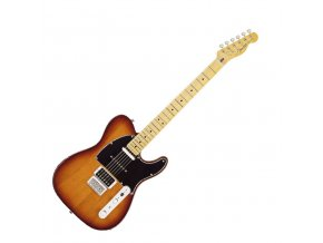 Fender Modern Player Telecaster Plus, Maple Fingerboard, Honey Burst