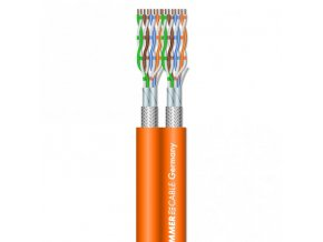 Sommer Cable SC-MERCATOR CAT.7 DuplexAWG23/1 Orange
