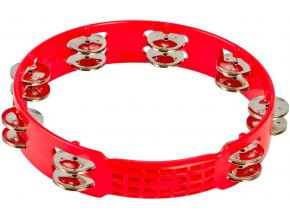 Latin Percussion LPA191 TAMBOURINE RED